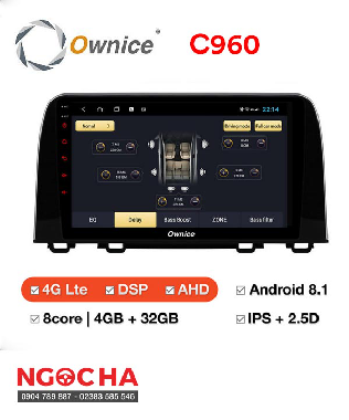 Màn Hình Android Ownice C960 Optical